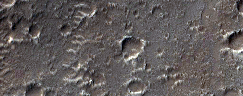 Valleys Carved into Southern Arsia Mons