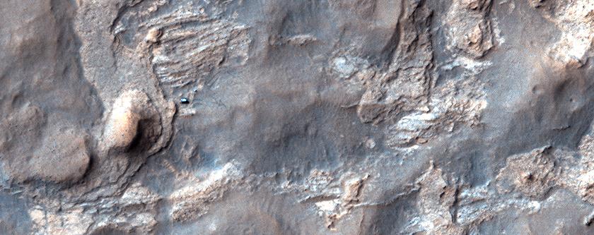 "Curiosity preparado para explorar ""Kimberley"""