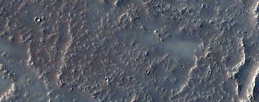 Lavas in Daedalia Planum