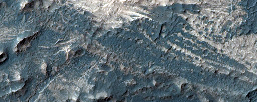 Possible Channels in Melas Chasma