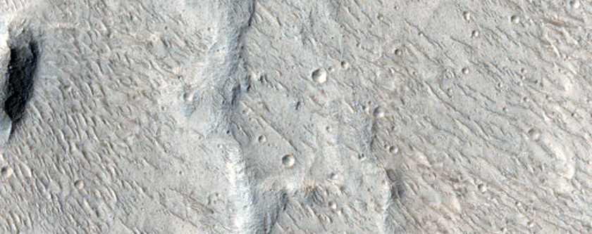 Candidate ExoMars Landing Site at Hypanis Valles Outflow