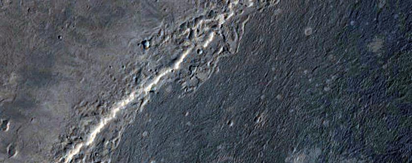 Sinus Meridiani Transverse Aeolian Ridges