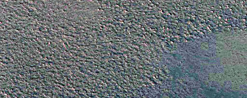 Chasma Boreale Gypsum Dunes