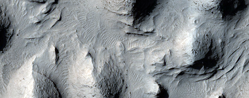 Layered Material in Aeolis Region