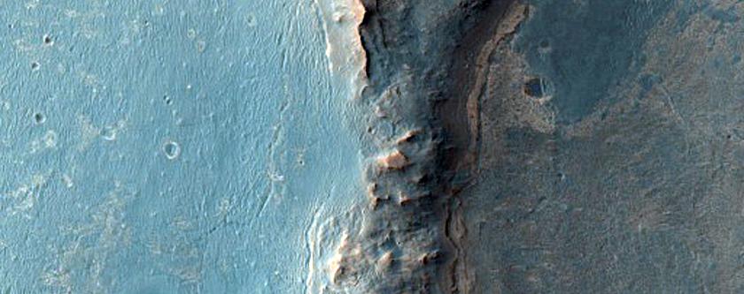 Endeavour Crater Rim