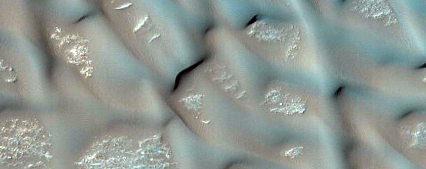 Amenthes Planum Dunes