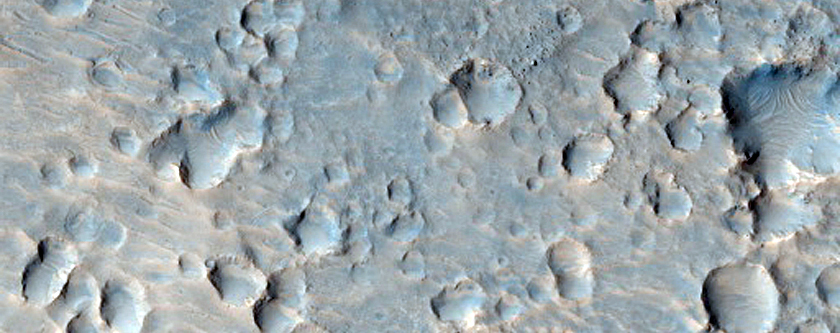 Candidate Future Landing Site in Oxia Palus Region