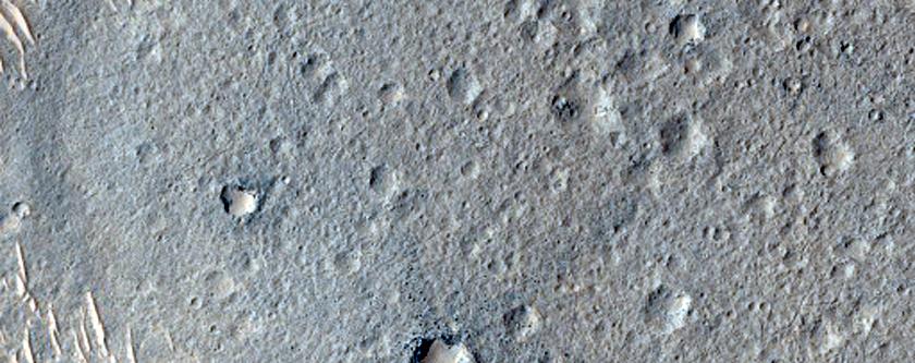 Breached Cone in Lederberg Crater