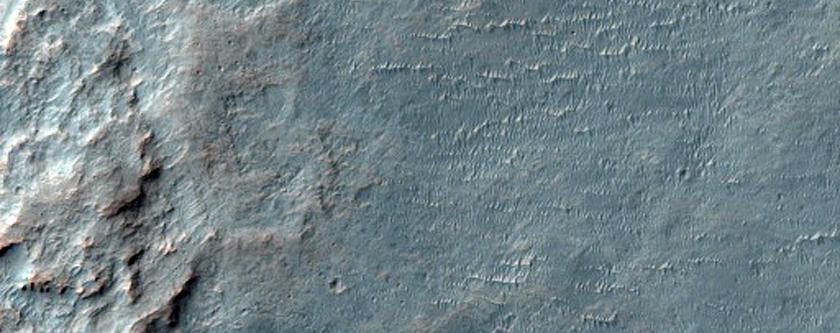Possible Location of Mars 6 Crash Site