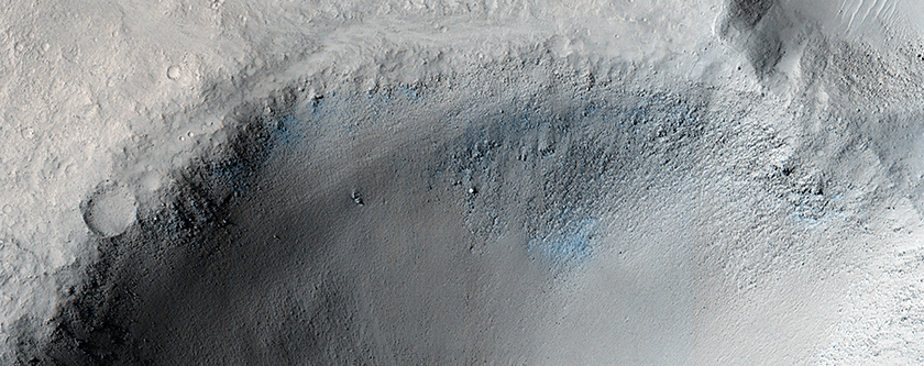 An Impact Crater in Isidis Planitia