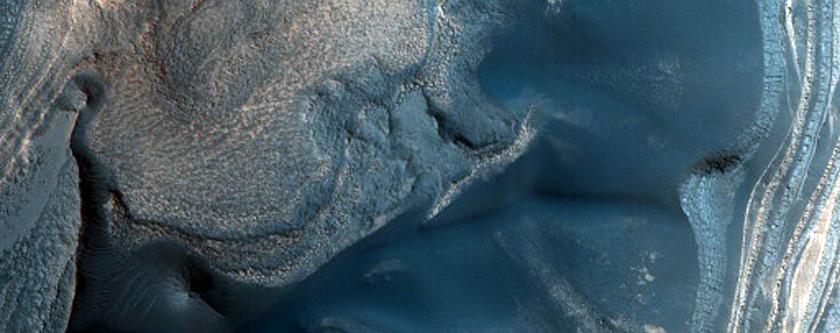 Chasma Boreale Interior Scarp