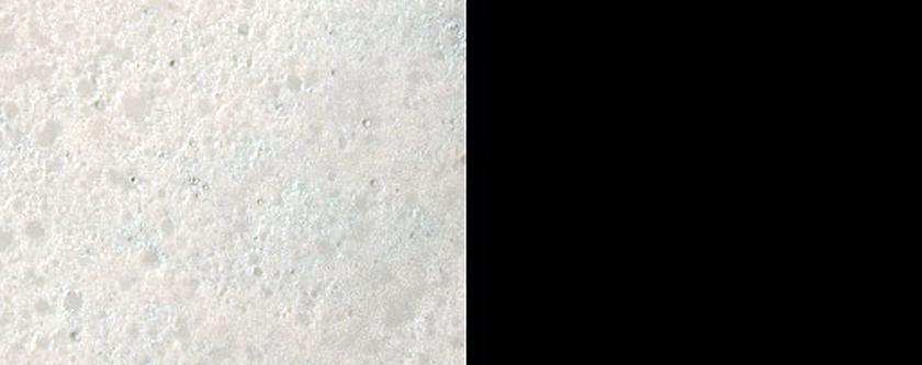 Fresh Impact Crater in Sinus Sabaeus Region
