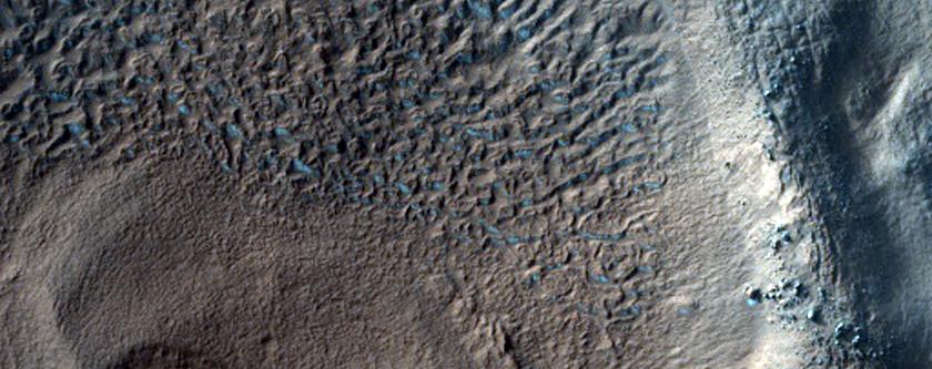 Crater Deposits in Terra Cimmeria
