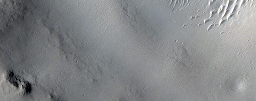 Channel in Arabia Terra