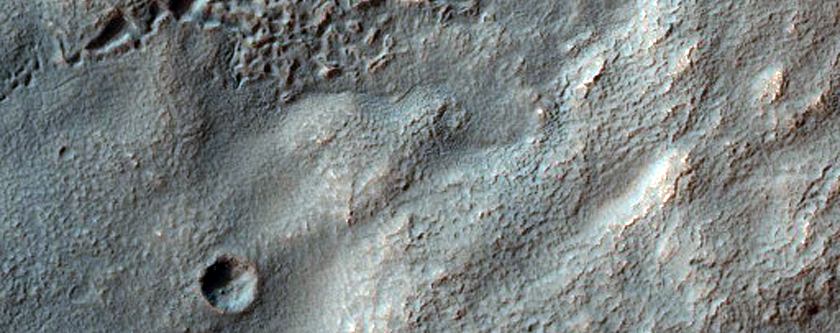 Hollowed Surface in Icaria Planum