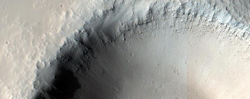 Impact Crater Near Graben