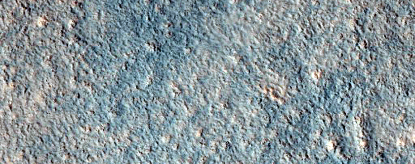 Troughs and Small Cones in Cydonia Region