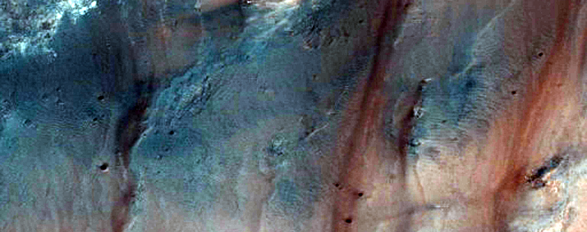 Dulovo Crater Barchan Dunes