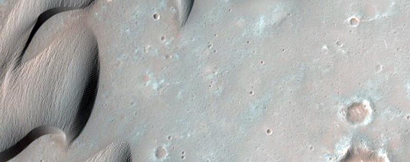 Herschel Crater Dunes Change Detection