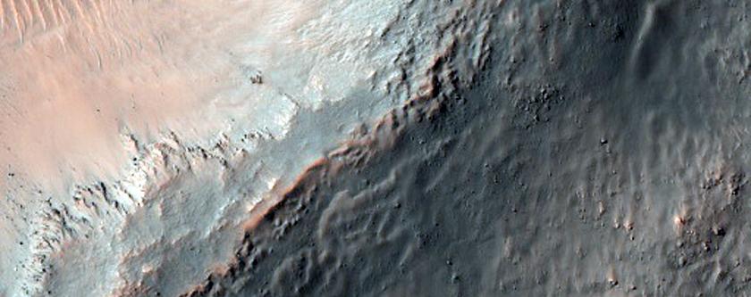 Crater Floor Features in Terra Sirenum