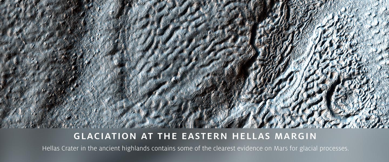 Glaciation at the Eastern Hellas Margin