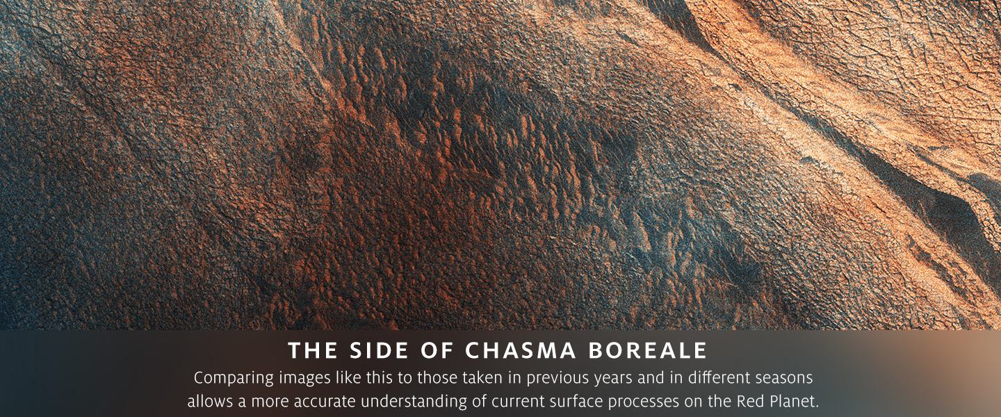 The Side of Chasma Boreale