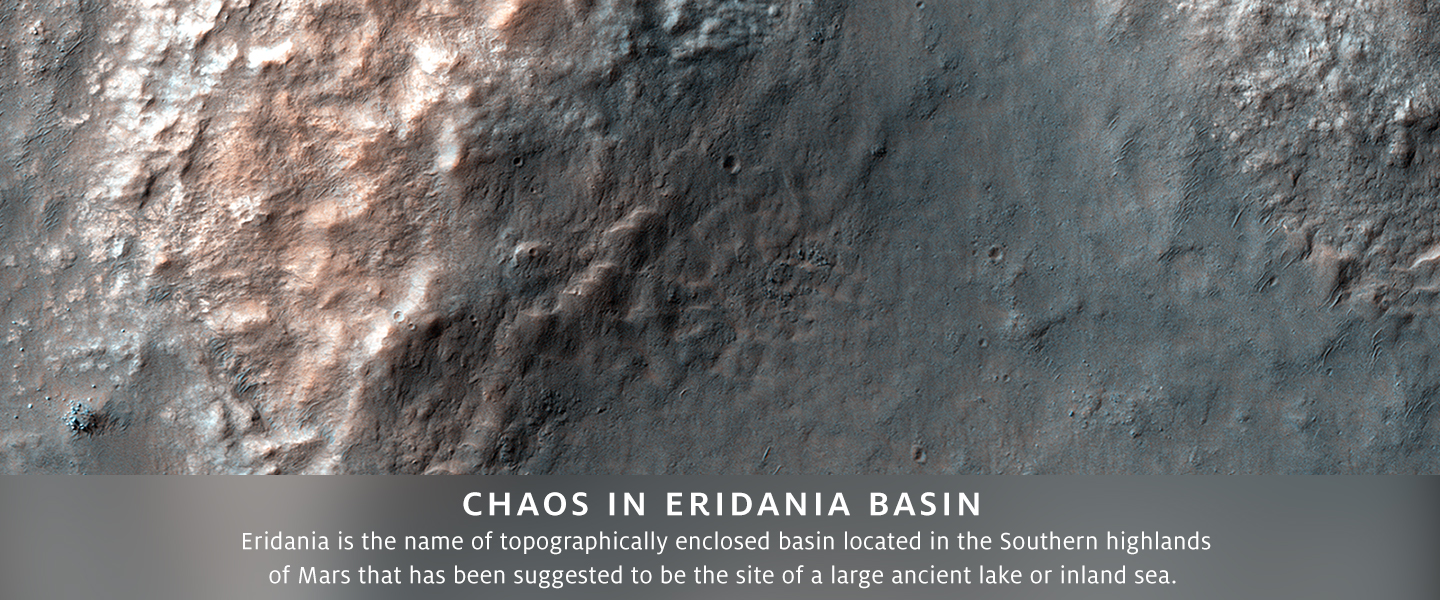 Chaos in Eridania Basin