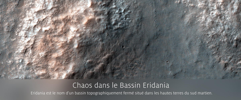 Chaos dans le Bassin Eridania