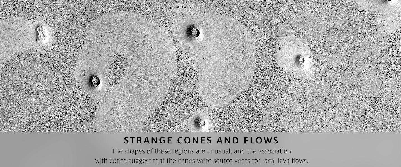 Strange Cones and Flows