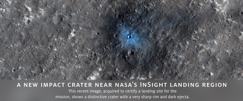 A New Impact Crater Near NASA
