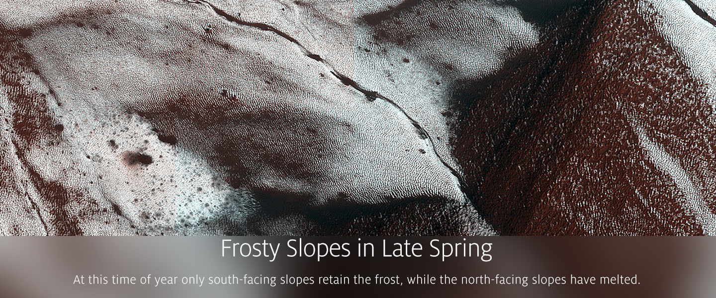 Frosty Slopes in Late Spring
