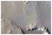 Seasonal Variation of Intersecting Graben in Ulysses Fossae