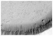Filled Crater Near Athabasca Valles