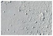 Crater in Marte Vallis