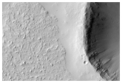 Contact between Flow from Uranius Patera and Plains