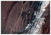 Avalanche Monitoring at Steep North Polar Scarp