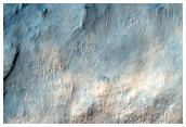 Rim of Crater in Mare Serpentis