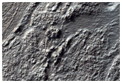 Textured Materials in Northwest Hellas Planitia