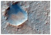 Missão 2020: um provável local de pouso na Cratera Gusev