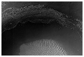 A Large Crater in Meridiani Planum