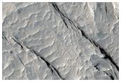 Foirmíochtaí Suimiúla ar Urlár Olympus Mons