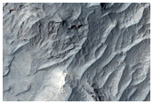 Layered Rocks of Ophir Mensa
