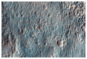 Distal Deposits from Double Layer Ejecta Crater