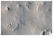 Wrinkle Ridge in Arabia Terra