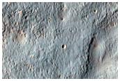 Valley Network Inside Noachis Terra Crater