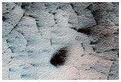 Active Fan Terrain on South Polar Cap