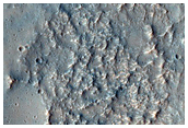 Sinuous Ridge in Valley in CTX G03_019387_1531_XN_26S011W