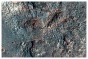 Layered Bedrock on Floor of Vinogradov Crater