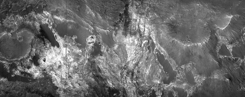 Bun-chreg ayns Ard Mawrth Vallis