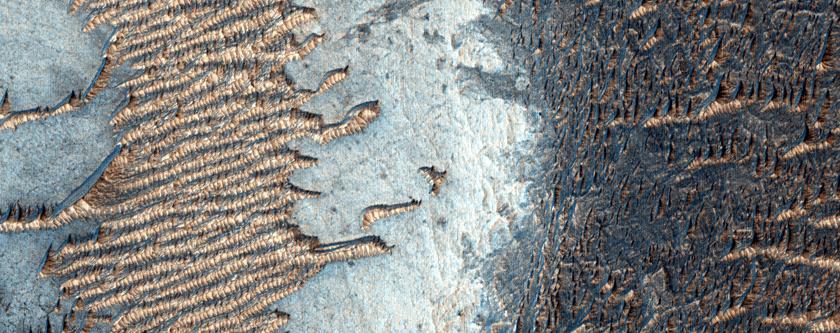 Drundinyn Daah-Eddrym ayns Noctis Labyrinthus